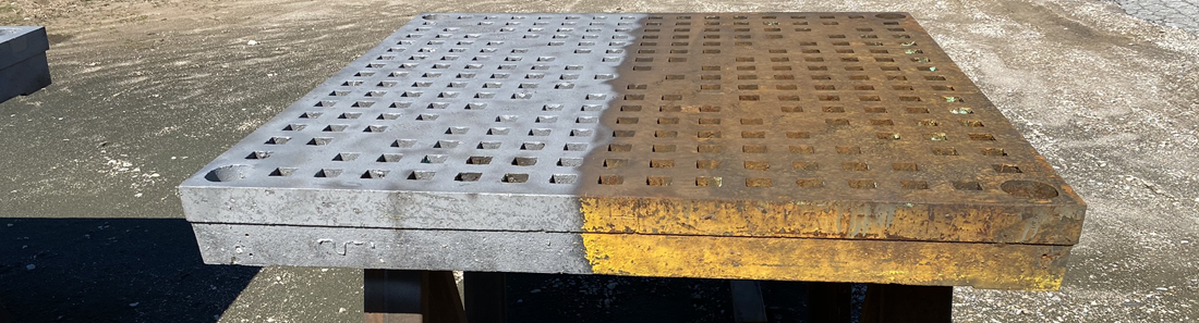 The Sandblasting Shop - Before and After
