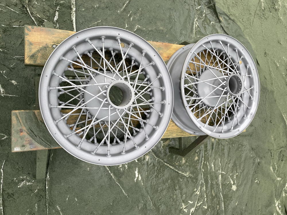Classic Indy Car Wheels - After