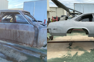 Race Car Before and After