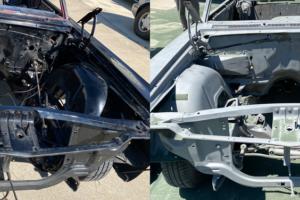 Car Frame Before After